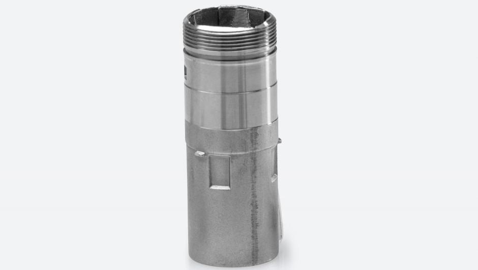 Prototyp Glasfaser-Steckergehäuse